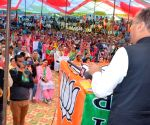 Himachal CM campaigns for Reena Kashyap ahead of Pachhad by-elections