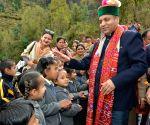 Himachal CM visits Bhimakali temple