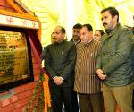 Jai Ram Thakur lays stone for Shimla water scheme