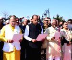 Sardar Vallabh Bhai Patel's 144th birth anniversary - Himachal Governor,CM pay tributes