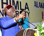 Himachal Governor at APG University Convocation ceremony