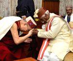 Himachal Governor meets Dalai Lama
