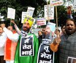 Hindu activists' demonstration against Navjot Singh Sidhu