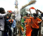 HNS demonstration against Nawaz Sharif