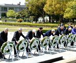 JAPAN G7 DIPLOMACY HIROSHIMA