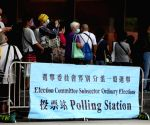 HK begins 1st polls after improvements to electoral system