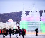 CHINA-HOHHOT-ICE AND SNOW FESTIVAL