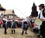 Traditional Easter celebrations in Holloko