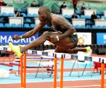Holloway breaks world indoor 60m hurdles record in Madrid