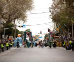 ISRAEL HOLON PURIM PARADE