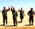 SYRIA DESERT MILITARY PROGRESS