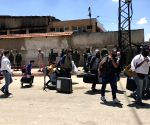 SYRIA HOMS REBELS EVACUATION