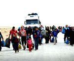 SYRIA HOMS REFUGEES RUTURN