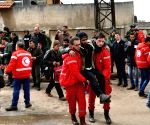 SYRIA HOMS REBEL LAST STRONGHOLD EVACUATION