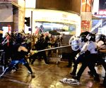 Brawl in Hong Kong mall as protest targets Chinese stores
