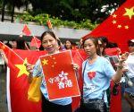 CHINA-HONG KONG-AGAINST U.S. INTERFERENCE-DEMONSTRATION