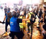 CHINA-HONG KONG-POLICE-MEDIA LIAISON TEAM
