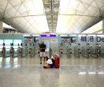 Hong Kong: CHINA HONG KONG AIRPORT FLIGHTS CANCELLATION