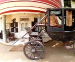 Her car painted with cow dung, uses horse-cart for small distances