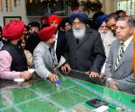Parkash Singh Badal during the inauguration of Centre of Excellence for Fruits