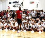 U.S. HOUSTON BASKETBALL JAMES HARDEN CAMP