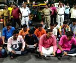 BJYM blocks street to protest Kolkata roads' closure for namaz