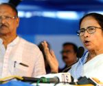 Mamata flays Centre, BJP over I-T notice to Durga Puja committees in Bengal