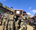 Hundreds bid farewell to Manipur braveheart martyred in J&K