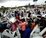 Huzur Nagar (Telangana): K. Chandrashekar Rao's public meeting cancelled due to bad weather