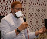 Owaisi calls for ensuring social distancing in places of worship