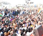 Sea of humanity at 'Tiranga rally' in Hyderabad