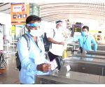 Free Photo: Hyderabad Airport rolls out e-boarding for international passengers