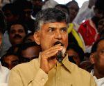 Andhra CM celebrates Christmas