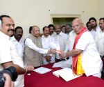 Newly elected Andhra MLCs take oath of membership
