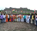 Hyderabad Merger Day celebrated with unfurling national flag