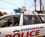 CC camera installed on telangana police vehicle