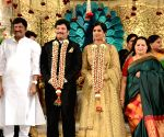 Rajendra Prasad's Son Balaji and Siva Shankari marriage Reception