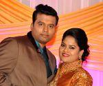 Talasani Srinivasa Yadav's daughter marriage reception