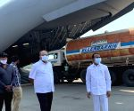 Empty oxygen tankers airlifted from Hyderabad