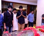 Friends and relatives pay tribute to D Ramanaidu's