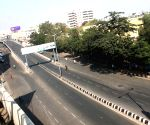 Deserted Hyderabad roads during India - Pakistan World Cup match