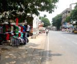 ICC World Cup 2015 - deserted roads
