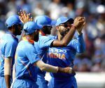 1st ODI: Indian bowlers restrict Australia to modest total