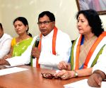 K. Jana Reddy addresses press