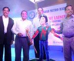 Launch of Hyderabad Metro Rail Mascot