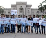 Osmania student's demonstration