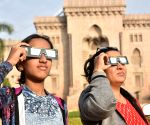 15 youths suffer vision loss due to solar eclipse