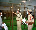 Police Commissioner Anjani Kumar pays inspection visit to counting centre ahead of GHMC election vote count