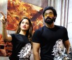 Rana and Tamanna at a programme