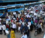 Telangana shutdown hits transport services